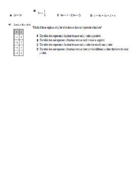 Grade 8 Math Practice Exam - Day 2