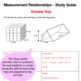 Grade 8 Study Guide, Test, and Comments - Number Sense - Quantity Relationships