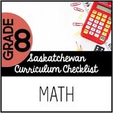 Grade 8 Mathematics - Saskatchewan Curriculum Checklist