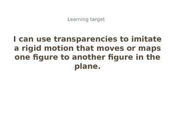 Grade 8 Module 2 Topic A Powerpoint Eureka Math Engage NY