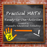 Grade 8: Number, Operation, and Quantitative Reasoning