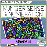 Number Sense Math Units Bundle (Relations, Operations, Proportions) - Grade 8