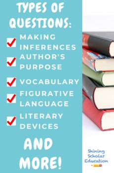 Grade 8 Prentice Hall Lit  Unit 3 Types of Nonfiction Tests Bundle (14  total)