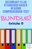 Grade 8 Prentice Hall Lit. Unit 6 Themes in American Stories Tests Bundle (16)