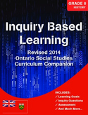 Grade 8 REVISED Ontario History Curriculum Companion