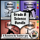 Grade 8 Bundle: Cells, Systems, Water, Fluids