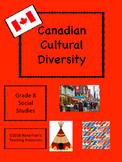 Grade 8 Social Studies Canadian Cultural Diversity