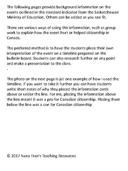 Grade 8 Social Studies Power and Authority