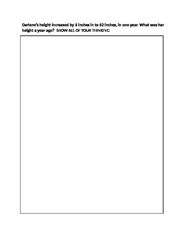 Grade 8 Unit Test - Math