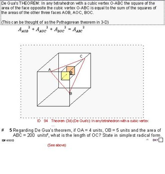 Grade 8 and up: Theorems, formulas and problems for the GIFTED & CURIOUS