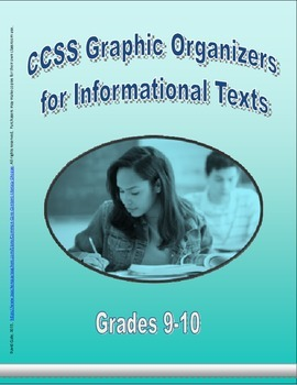 Grade 9-10 CCSS Graphic Organizers for Informational Texts