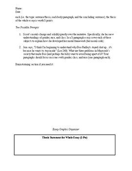 Grade 9-10 Of Mice and Men To Kill A Mockingbird Final Exam American Literature