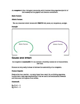Grade 9 - Biology Lesson 01 - Life on Planet Earth