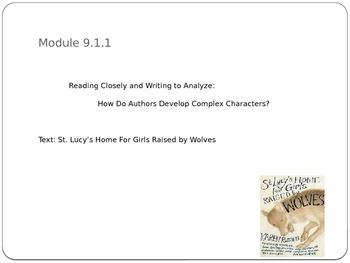 Grade 9 ELA Module 1 Unit 1 Lessons 1&2