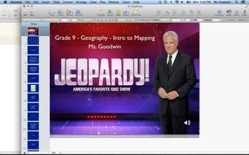 Grade 9 Geography Jeopardy - Introduction to Mapping