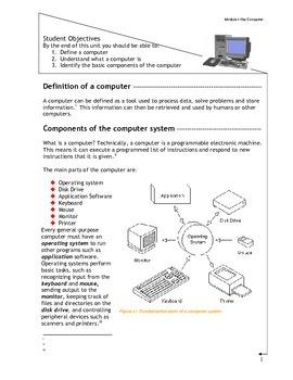 Grade 9 Grade 10 Year 9 Year 10 Module 1 ICT EDPM Computer