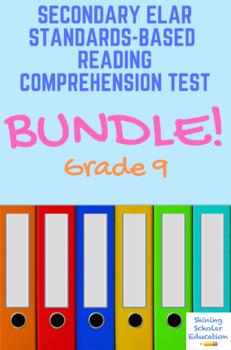 Grade 9 Holt McDougal Lit. Unit 1: Narrative Structure Test Bundle (9 total)