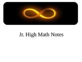Grade 9 Math Notes