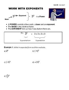 Grade 9 Math - Polynomials