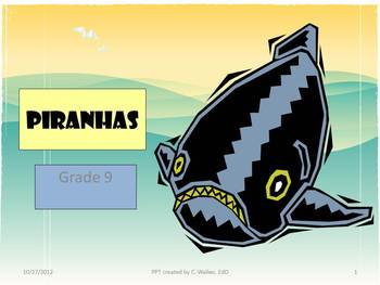Grade 9 Reading Comprehension PPTs
