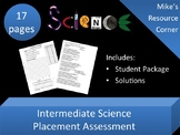 Science Course Placement Assessment