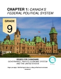 Grade 9 Social Studies: Chapter 1 Canada's Federal Political System Workbook