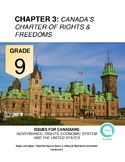 Grade 9 Social Studies: Chapter 3, Canada's Charter of Rights and Freedoms