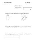 Grade 9 Spatial Geometry TEST