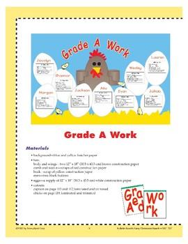 Grade A Work (Bulletin Board)