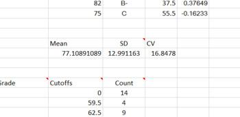 Grade Analysis Tool