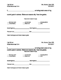 Grade Awareness Form