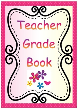 Teacher Grade Book and Data Tracking