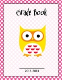 Grade Book Cover Page