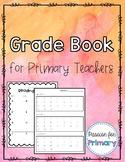 Grade Book Made Easy- Watercolor Edition!