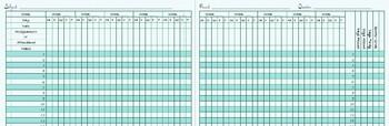 Grade Book Plan Book 2018-2019