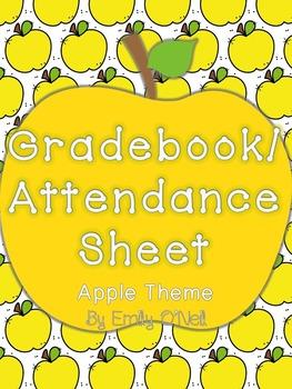 Grade Book and Attendance (Apple Theme)