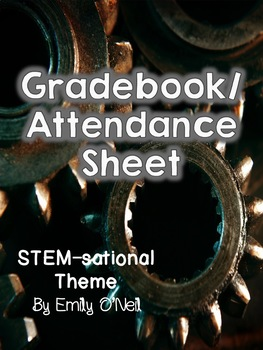 Grade Book and Attendance (STEM-sational Theme)