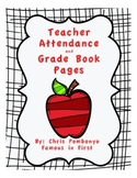 Grade Book and Attendance Sheets