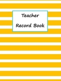 Grade Book with Binder Covers Summer Colors