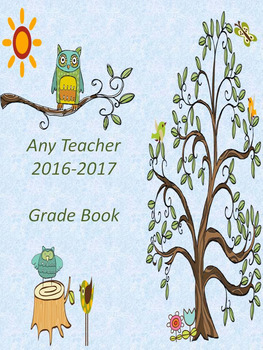 Grade Booking Cover and Template Pages