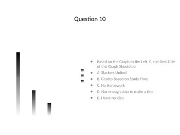 Grade Cam 10 Question Graphing Quiz