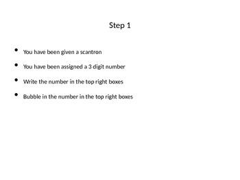 Grade Cam 10 Question Graphing Quiz