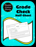 Grade Check and Parent Communication for Missing Work