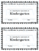 Grade Completion Certificates
