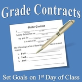 Grade Contracts for Middle School