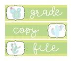 Grade, Copy, File- Cactus- Freebie!