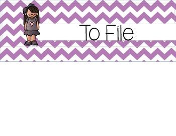 Grade Copy File Organizer