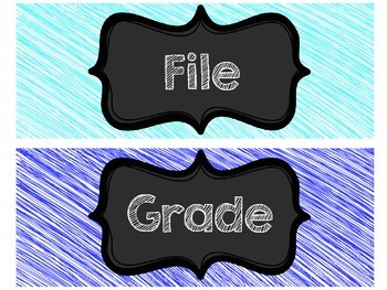 Grade, File, Copy
