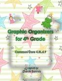 4th Grade Graphic Organizers for Traditional Literature Co