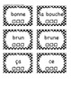 Grade I French Immersion Sight Word Flash Cards